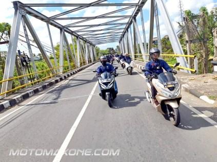 gathering blogger vlogger mpm bali - PCX tour3