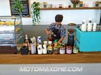 gathering blogger vlogger mpm bali - piston cafe astra denpasar
