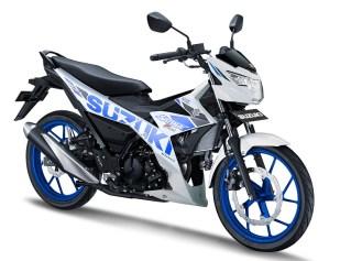 Satria F150 FI 2019 Malang White Blue