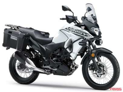 kawasaki versys-x 250 tourer kawasaki jatim kawasaki malang motomaxone 4 Pearl Blizzard White x Metallic Matte Carbon Grey