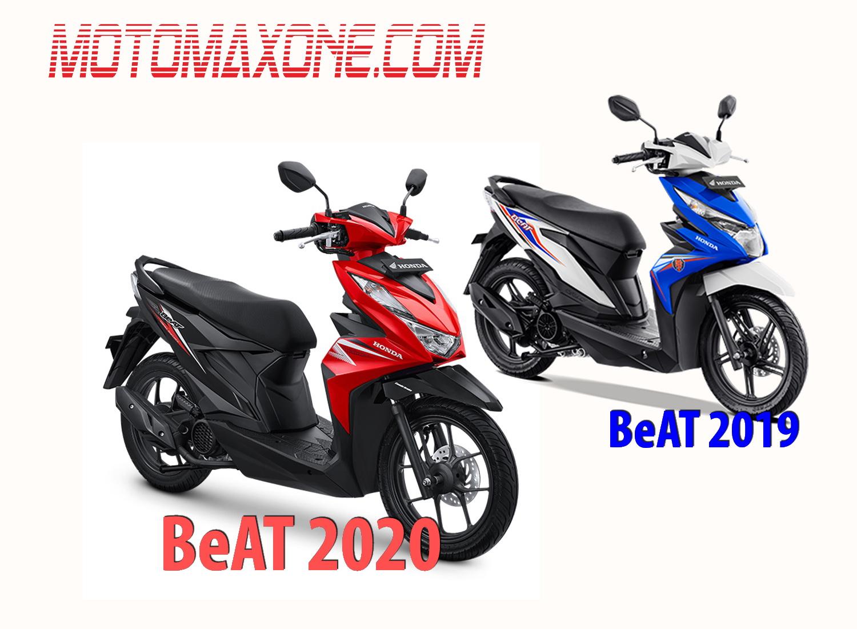 Perbandingan Spesifikasi Honda Beat 2020 Vs Beat 2019