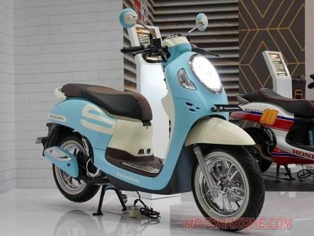 Modifikasi All New Honda Scoopy 2021 Sky Blue Makin Fashionable 2