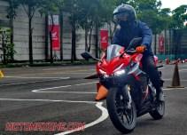 First Ride All New Honda CBR150R 2021 motomaxonecom 3