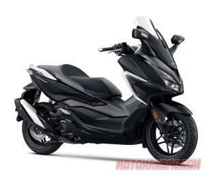 MotomaxoneCom Honda Forza Mat Gunpowder Black Metallic