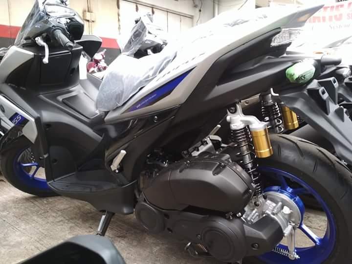 Yamaha Aerox 155 Vva Versi R Update Warna Baru Silver Birunya