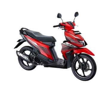 Suzuki NEX II Sporty Runner Stronger Red