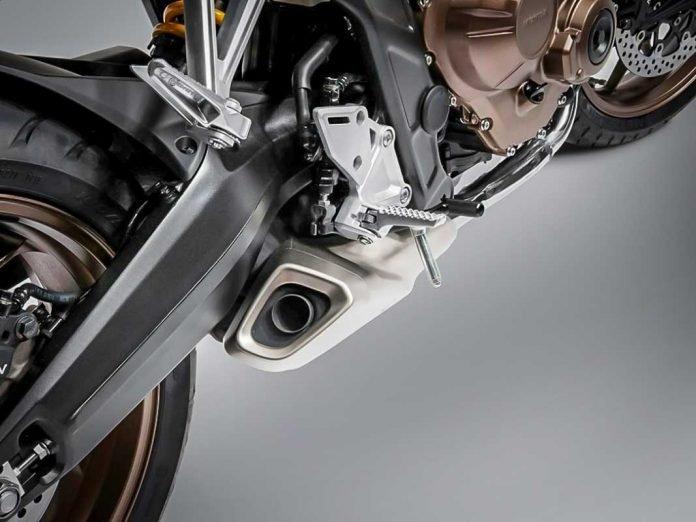 knalpot underbelly New Honda CB650R neo Sport Cafe