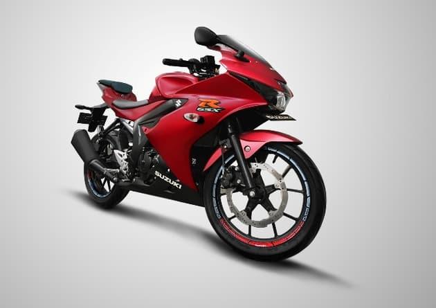 gsx-r150 matt red motomazine.com