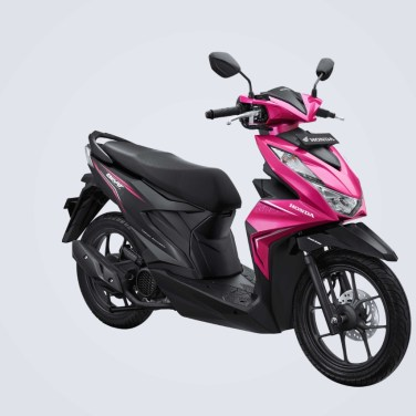 All New Honda BeAT 2020 Magenta Black