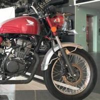 Modifikasi Honda CB150 Verza jadi Retro Sport