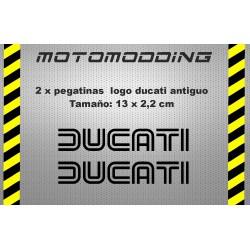 pegatinas-logotipo-antiguo-ducati Adhesivos Ducati,Pegatinas exclusivas de Ducati o para Ducati, Vinilos para llantas Ducati, Pegatinas Ducati Corse y una gran variedad de adhesivos para motos Ducati Monster 696, 796, 1100 y 1100Evo