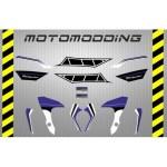 pegatinas-yamaha-mt-07-aniversario-4 Pegatinas motocicleta Yamaha Mt 07 carenado guardabarros colín...