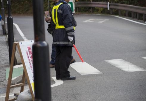 民間警備員の交通整理と警察官による交通整理はまったく別物