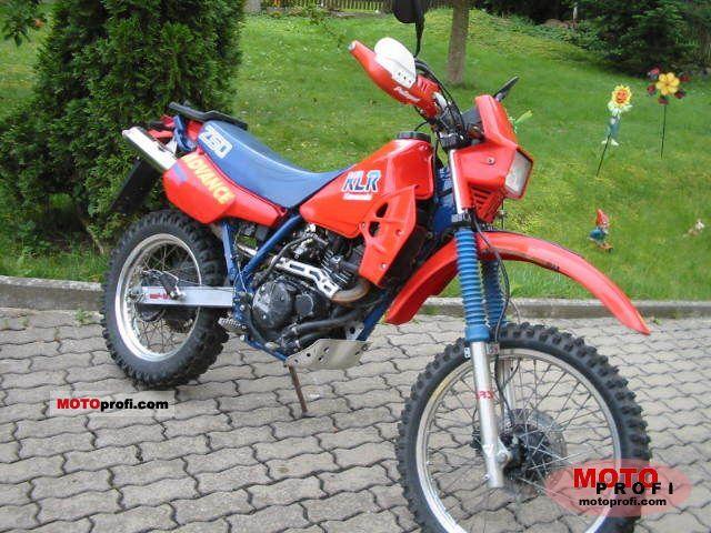 Kawasaki Klr 250 1986 Specs And Photos