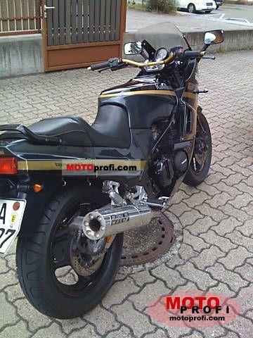 Kawasaki Gpz 600 R Specs And Photos
