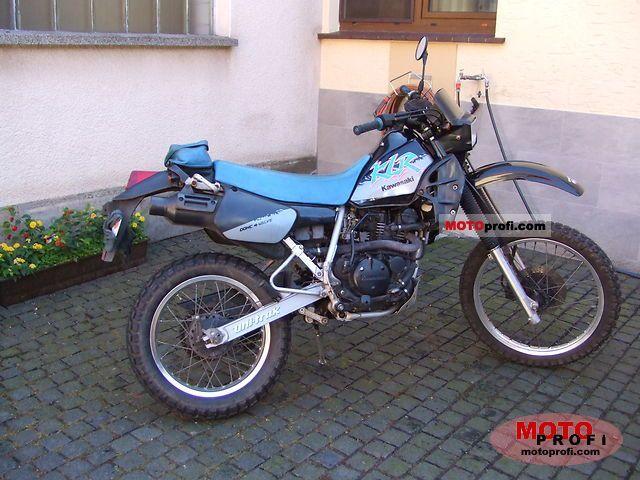 Kawasaki Klr 250 1992 Specs And Photos