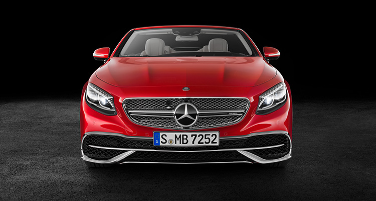 Mercedes Maybach S650 front