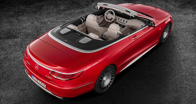 Mercedes Maybach S650 top