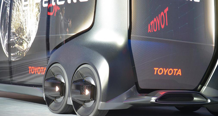 toyota e-palette electric concept chassis