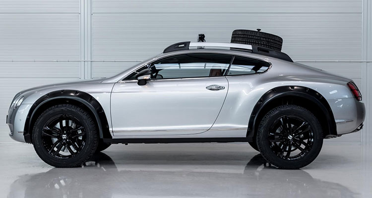 Bentley Continental GT Off Roader side