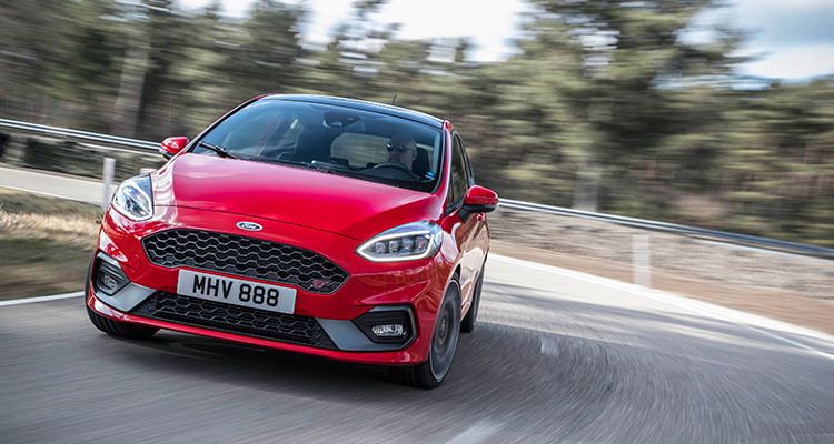 2018 Ford Fiesta ST2 Front
