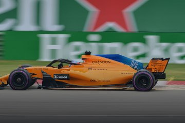 2018 Chinese Grand Prix FP3 Fernando Alonso feature