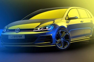 Golf GTI TCR front side feature