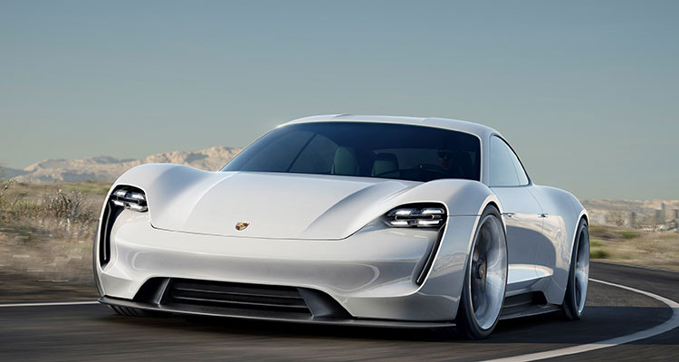 The All New Electric Porsche Taycan 8