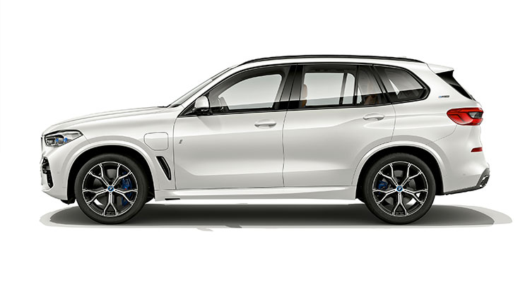 BMW X5 xDrive45e iPerformance exterior side 1