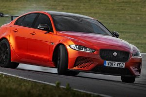 JAGUAR XE SV PROJECT 8 front side 2 feature