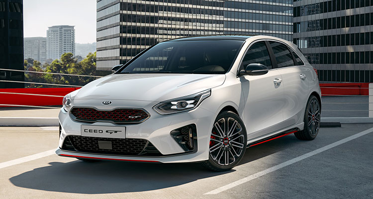 New Kia Ceed 5dr GT 2019 front side