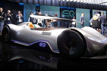 Mercedes EQ Silver Arrow feature