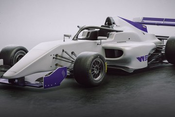 New W Series racing car feature