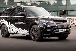 Self-driving Range Rover Sport feature