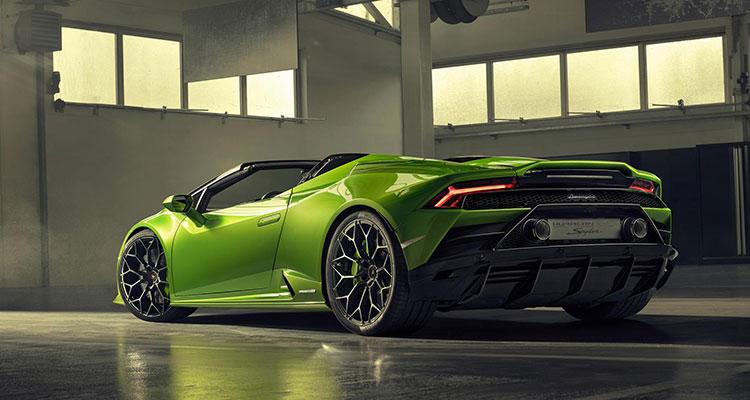 Lamborghini Huracán Evo Spyder 5