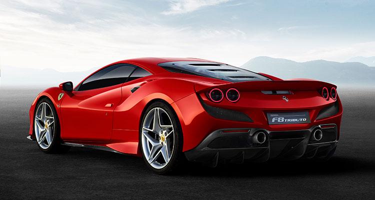 Ferrari F8 Tributo sports car 2