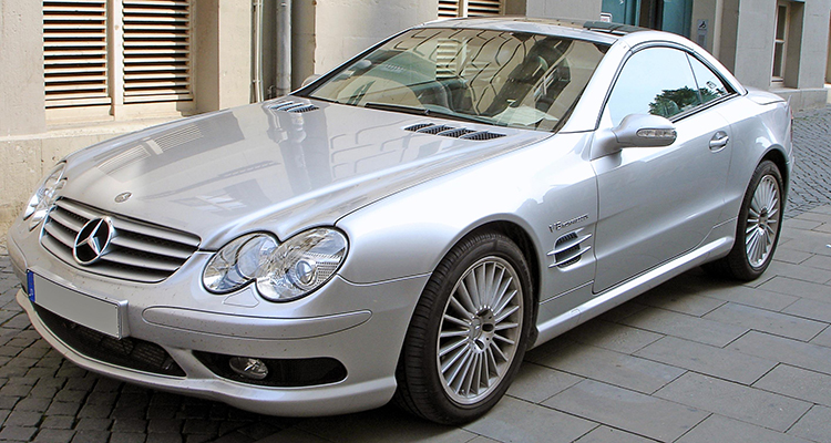 2005 Mercedes-Benz CL 65 AMG with a 604hp V12 12