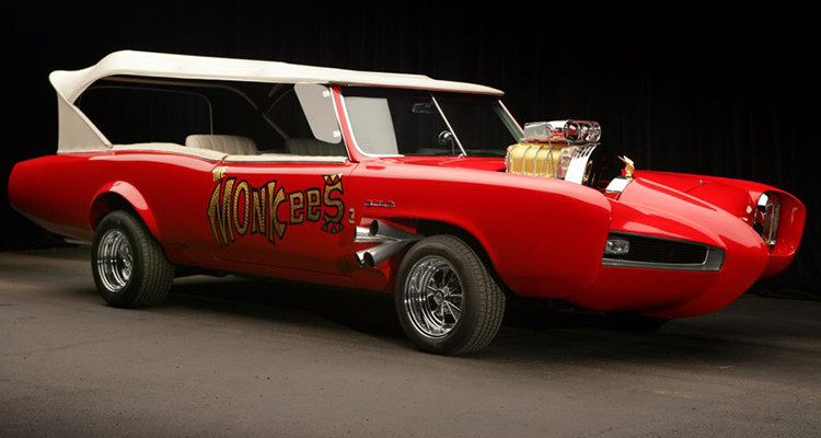 Monkeemobile the monkees Pontiac GTO 7