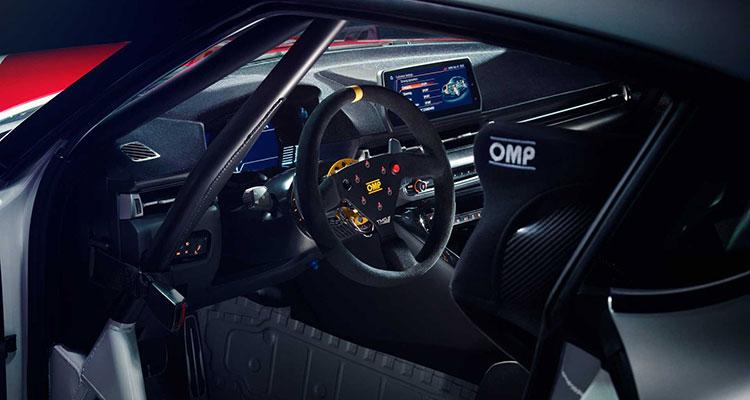 The Toyota GR Supra GT4 Concept 3