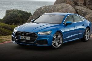 Audi A7 Kapstadt 2018 blue feature