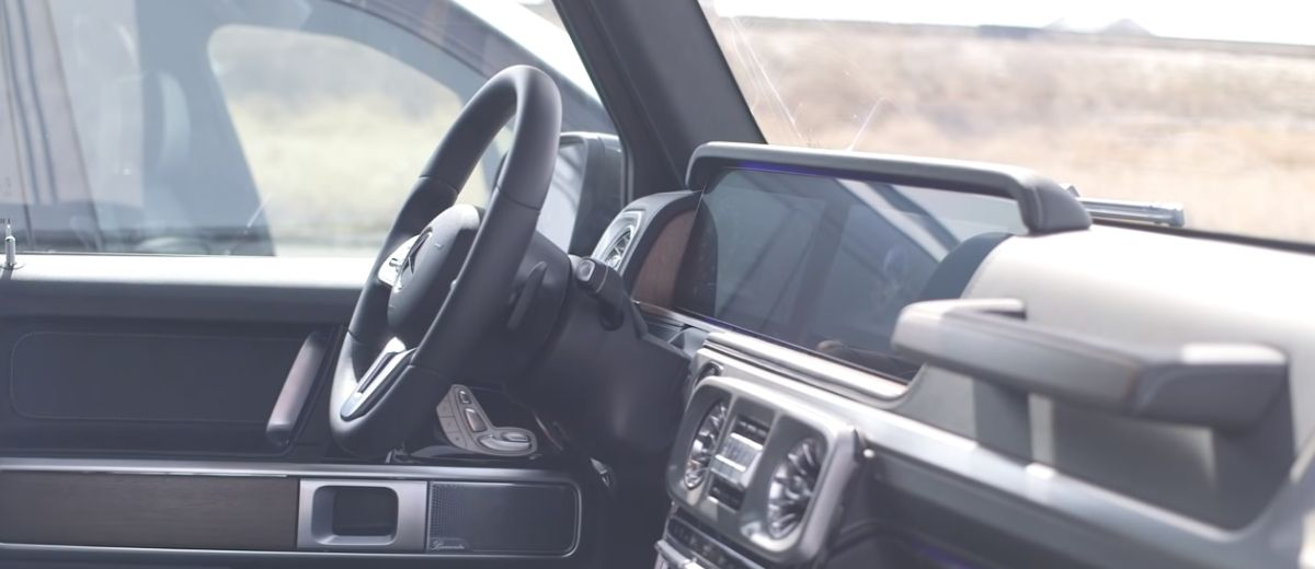 G-Wagon interior