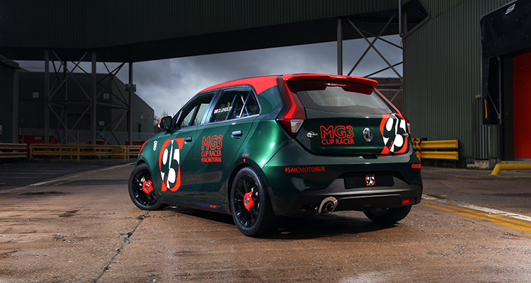 Low-cost MG3 Racer debut 1