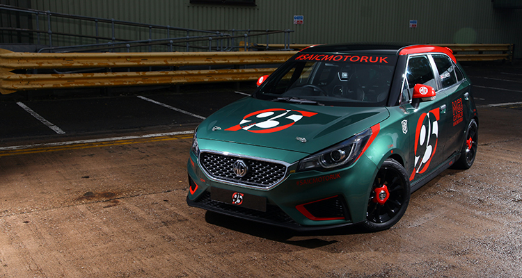 Low-cost MG3 Racer debut 2