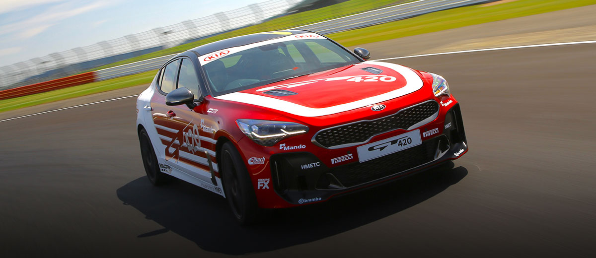 Kia Stinger GT420 Track Car (2)