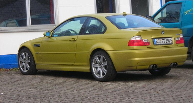 BMW M3 coupe e46 PL