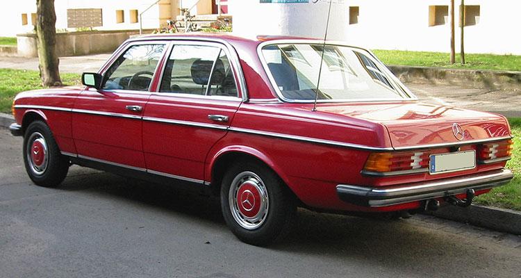 Mercedes W123 1 h sst
