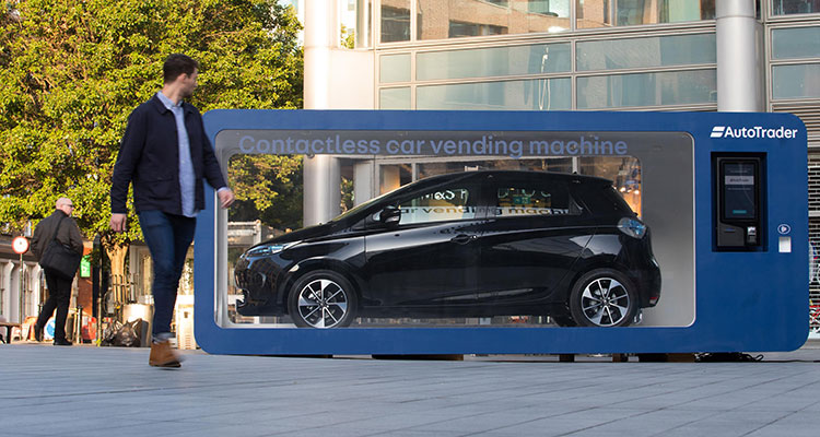 World's First Car Vending Machine - Renault Zoe