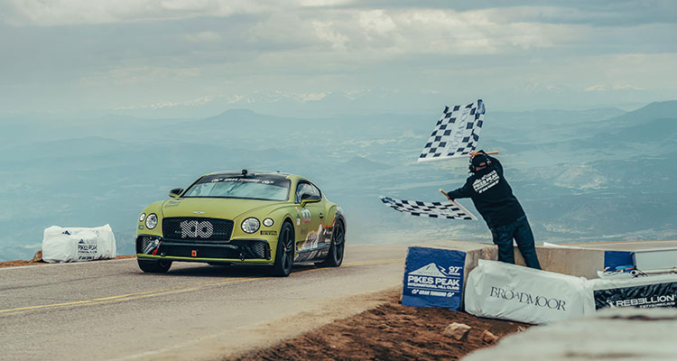 Continental GT at Pikes Peak 2019