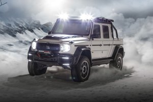 Brabus 800 Adventure XLP Mercedes G-Class (feature)