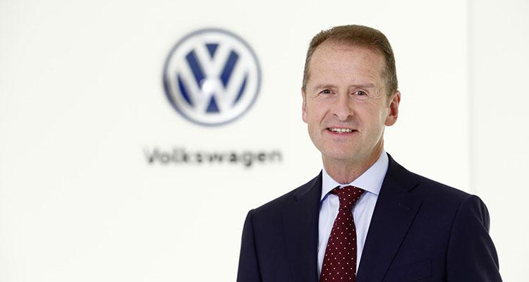 Herbert Diess - chairman of the board of management of Volkswagen Group